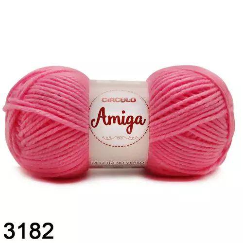 FIO AMIGA 100 GR COR 3182 PITAYA