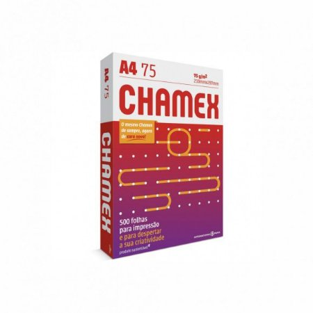 PAPEL A4 500F 75G BR CHAMEX OFFICE
