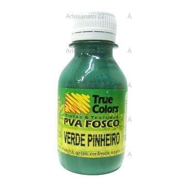 Tinta PVA Fosca True Colors verde pinheiro 100 ml