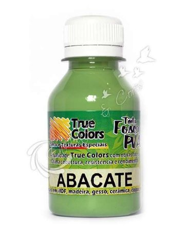 Tinta PVA Fosca True Colors Abacate 100 ml