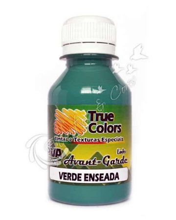 Tinta PVA Fosca True Colors Avant-Garde Verde Enseada 100 ml