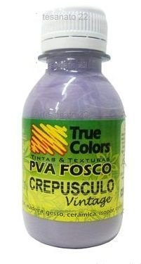 Tinta PVA Fosca True Colors Vintage Crepúsculo 100 ml