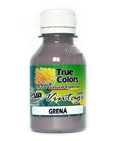 Tinta PVA Fosca True Colors Vintage Grená 100 ml