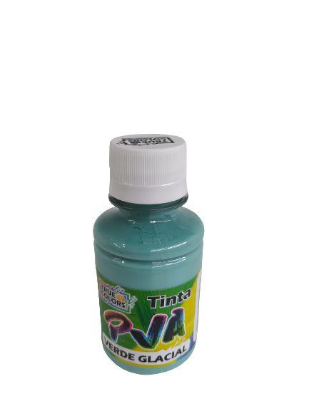 TINTA PVA FOSCO TRUE COLORS VERDE GLACIAL VINTAGE 100 ML
