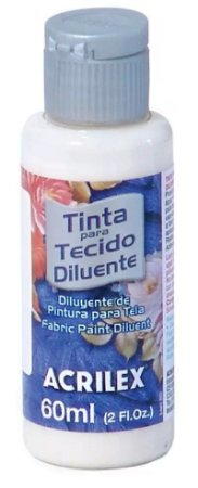 DILUENTE DE TINTA PARA TECIDO 60 ML