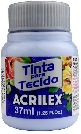 TINTA PARA TECIDO ACRILEX AZUL BEBE 37 ML