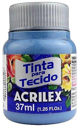 TINTA PARA TECIDO ACRILEX AZUL INVERNO 37 ML