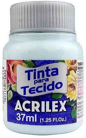 TINTA PARA TECIDO ACRILEX AZUL SOFT 37 ML