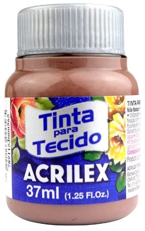 TINTA PARA TECIDO ACRILEX CAPUCCINO 37 ML