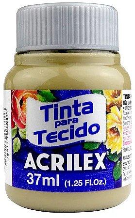 TINTA PARA TECIDO ACRILEX CAQUI 37 ML