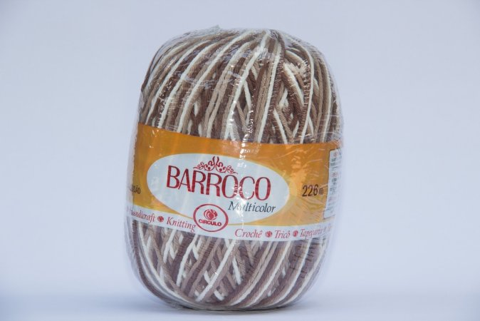 Barbante Barroco Multicolor 226 mts 200 g - Cor 9687
