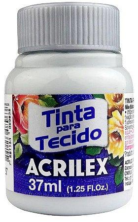 TINTA PARA TECIDO ACRILEX CINZA CLARO 37 ML