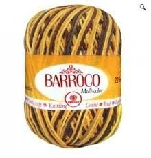 Barbante Barroco Multicolor 226 mts 200 g - Cor 9492