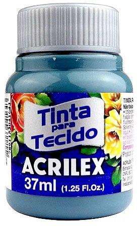 TINTA PARA TECIDO ACRILEX CINZA LUNAR 37 ML