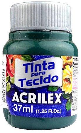 TINTA PARA TECIDO ACRILEX CINZA ONIX 37 ML