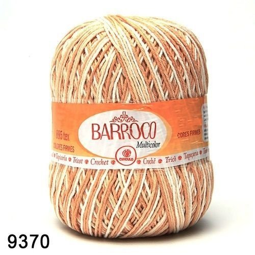 Barbante Barroco Multicolor 226 mts 200 g - Cor 9370