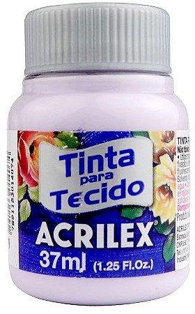 TINTA PARA TECIDO ACRILEX LILAS BEBE 37 ML