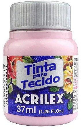 TINTA PARA TECIDO ACRILEX LILAS SECO 37 ML
