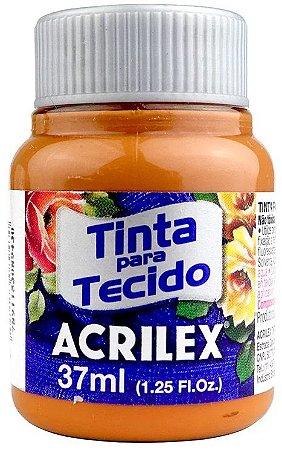 TINTA PARA TECIDO ACRILEX MARROM CAFÉ 37 ML