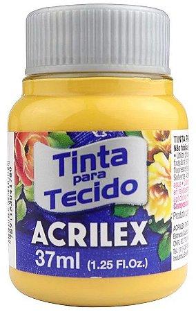 TINTA PARA TECIDO ACRILEX OCRE OURO 37 ML