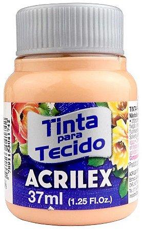 TINTA PARA TECIDO ACRILEX PESSEGO 37 ML