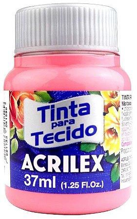 TINTA PARA TECIDO ACRILEX ROSA CHÁ 37 ML