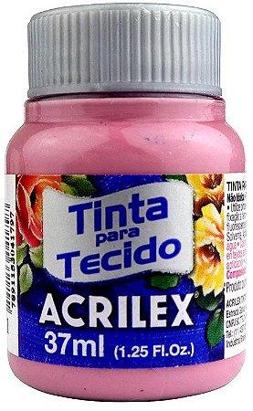 TINTA PARA TECIDO ACRILEX ROSA CICLAME 37 ML