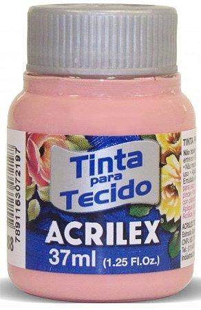 TINTA PARA TECIDO ACRILEX ROSE 37 ML