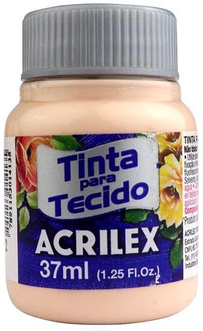 TINTA PARA TECIDO ACRILEX SALMAO 37 ML