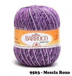 Barbante Barroco Multicolor 226 mts 200 g - Cor 9563
