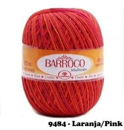 Barbante Barroco Multicolor 226 mts 200 g - Cor 9484