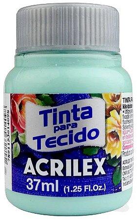 TINTA PARA TECIDO ACRILEX VERDE BEBE 37 ML