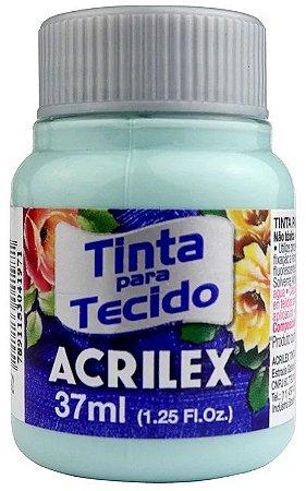TINTA PARA TECIDO ACRILEX VERDE GLACIAL 37 ML