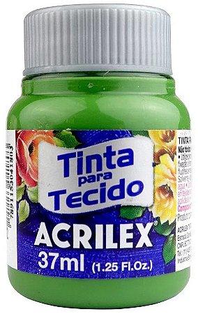 TINTA PARA TECIDO ACRILEX VERDE GRAMA 37 ML