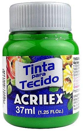TINTA PARA TECIDO ACRILEX VERDE MUSGO 37 ML