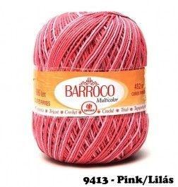 Barbante Barroco Multicolor 226 mts 200 g - Cor 9413