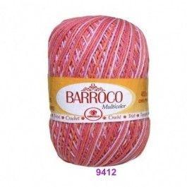 Barbante Barroco Multicolor 226 mts 200 g - Cor 9412