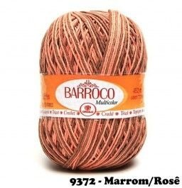 Barbante Barroco Multicolor 226 mts 200 g - Cor 9372