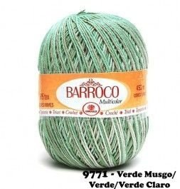 Barbante Barroco Multicolor 226 mts 200 g - Cor 9771