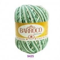 LINHA BARROCO MULTICOLOR 226 MTS 4/6 200 G - COR 9425