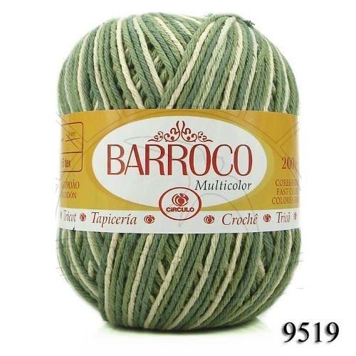 Barbante Barroco Multicolor 226 mts 200 g - Cor 9519