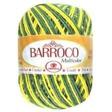 Barbante Barroco Multicolor 226 mts 200 g - Cor 9636