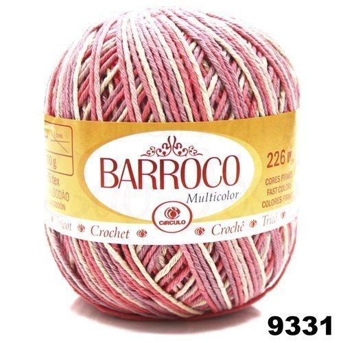 Barbante Barroco Multicolor 226 mts 200 g - Cor 9331