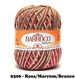 Barbante Barroco Multicolor 226 mts 200 g - Cor 9306
