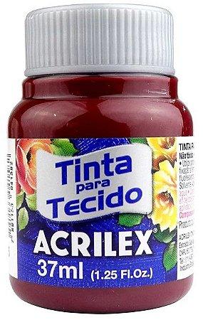 TINTA PARA TECIDO ACRILEX VINHO 37 ML