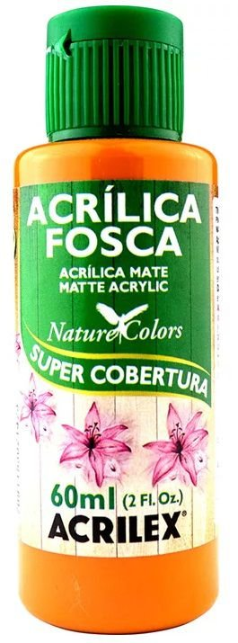 TINTA ACRILICA FOSCA AMENDOA NAT. COLORS 60 ML ACRILEX