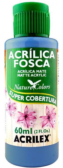 TINTA ACRILICA FOSCA AZUL BALI NAT. COLORS 60 ML ACRILEX