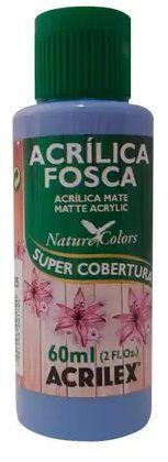 TINTA ACRILICA FOSCA AZUL COUNTRY NAT. COLORS 60 ML ACRILEX