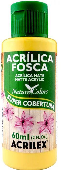 TINTA ACRILICA FOSCA CAMURÇA NAT. COLORS 60 ML ACRILEX