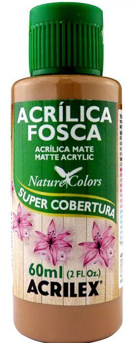 TINTA ACRILICA FOSCA CAPUCCINO NAT. COLORS 60 ML ACRILEX